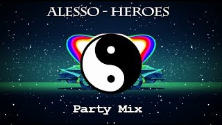 Alesso - Heroes (we could be) ft. Tove Lo ( Party Mix )
