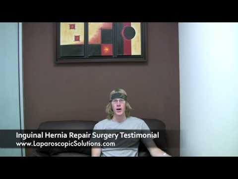 Laparoscopic Solutions | Inguinal Hernia Surgery Testimonial
