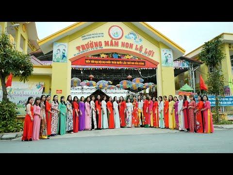 Những ngày chống dịch - Trường Mầm non Lê Lợi, TP. Bắc Giang