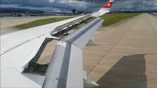 Download Video Swiss cs300 Landing Geneva MP3 3GP MP4
