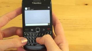 BlackBerry Bold 9780 Test Bedienung