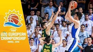Israel v Lithuania - Full Game - FIBA U20 European Championship 2019