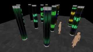 Cathedral Of Mirrors - Computer Simulation | Quays Culture