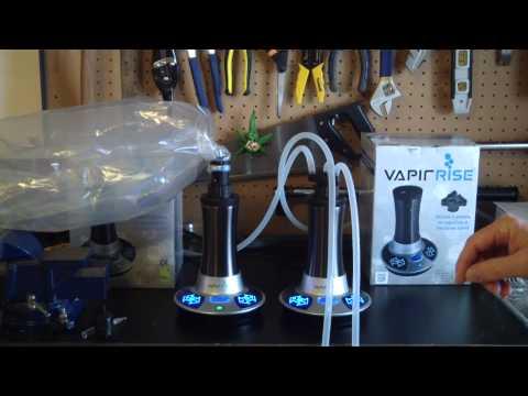 VapirRise Dual Vapir Rise Desktop Dry Herb Vaporizer Review