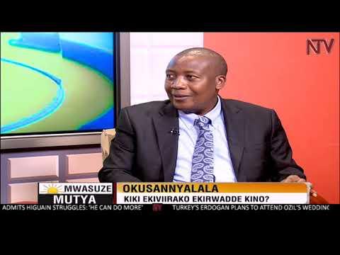 NTV Mwasuze Mutya : Ekirwadde ky'okusanyalala oba Stroke ne Dr Martin Kaddu