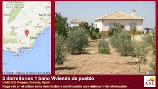 preview picture of video '2 dormitorios 1 baño Vivienda de pueblo se Vende en Uleila Del Campo, Almeria, Spain'