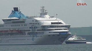 Круизный лайнер и российский танкер столкнулись у берегов Турции (новости)
