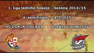 preview picture of video 'SF4 (14.3.2015) Dukla Jihlava - Piráti Chomutov'