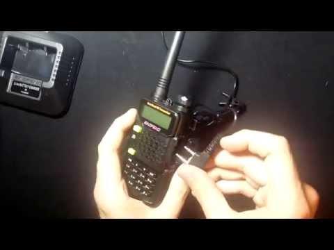 Baofeng UV-5R Amateurfunk - 2M/70CM Dualband