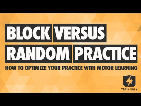 Block v Random Practice: Read, Plan, Do