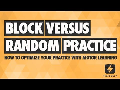 Block v Random Practice: Read, Plan, Do