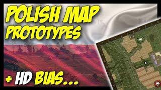 ► Poland Map Prototypes + HD Bias - World of Tanks 2018 Update News