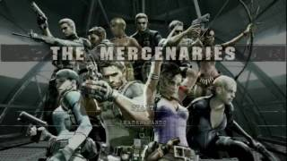 Resident Evil 5 Mercenarios