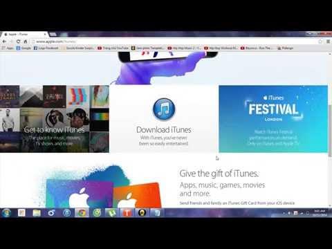 cách tải iTunes dễ dàng cho Window !!!