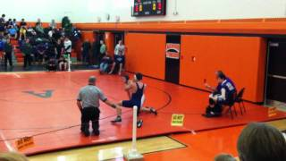 Mitch wrestling in akron tournament