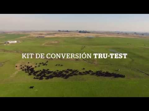 KIT de conversión de Tru-Test (balanza mecánica a balanza electrónica)