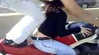 Экстрим, опасные трюки на мотоцыклах