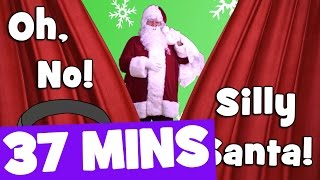 Silly Santa Song and More   37mins Christmas Songs Collection for Kids