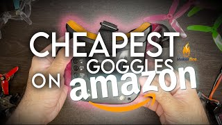 I Reviewed the Cheapest FPV Goggles on Amazon! Under $50!! (Makerfire 5.8ghz FPV Goggles)