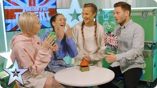 Code 3 and Sue Moretta chat exclusively in BGT