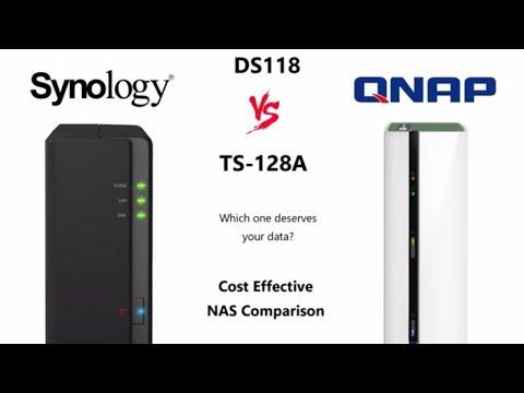 Synology DS118 Vs QNAP TS-128A - Best 1-Bay NAS Comparison