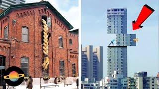 10 kreatywnych reklam na budynkach