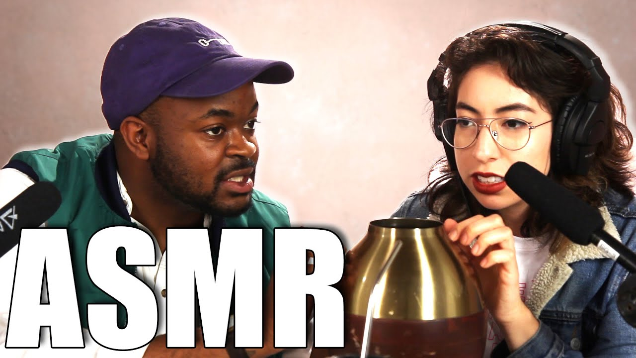 We Tried Doing ASMR For The First Time thumbnail