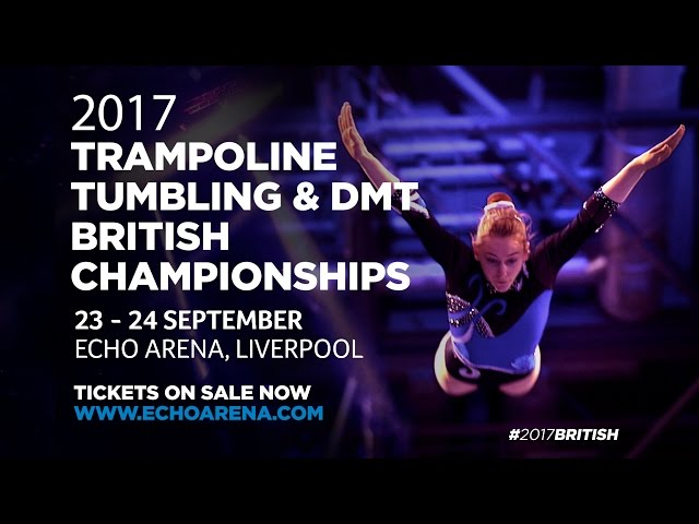 2017 Trampoline, Tumbling & DMT Championships - Tickets on sale!