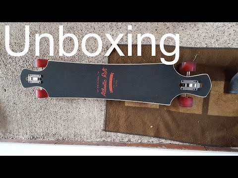 Atlantic Rift Longboard Unboxing + Review