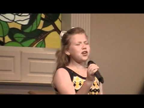 Nicole C. Mullen My Redeemer Lives sung by Nine year old Anna Morgan Michel- Amazing.