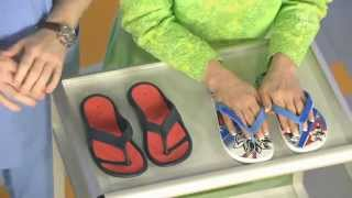Самая опасная летняя обувь. Вьетнамки