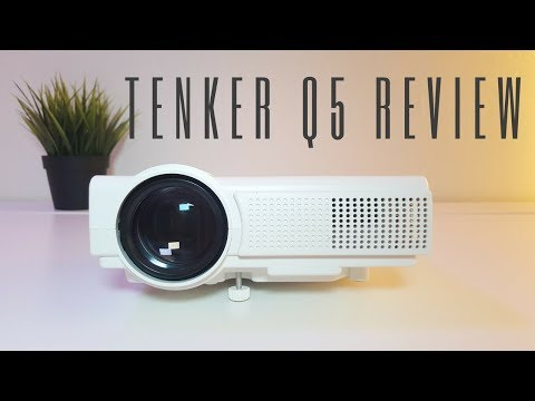 TENKER Q5 LCD Mini Projector Review – A budget Home Cinema ?!