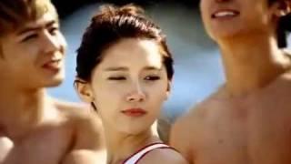 [Full MV/ HQ] 2PM & SNSD - CABI Song (Caribbean Bay CF)