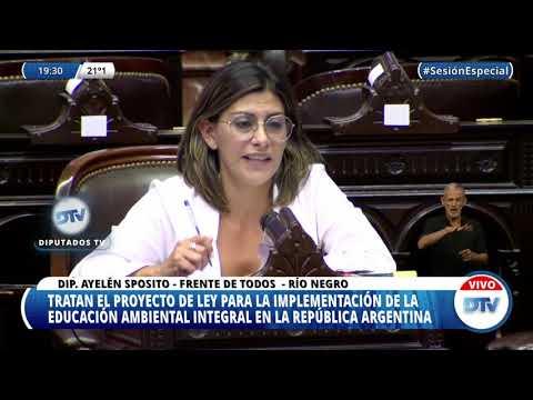 Ayelén Spósito, educacion ambiental integral