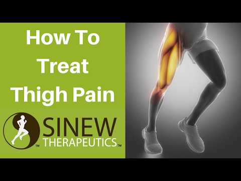 Video How To Treat Thigh Pain and Speed Recovery