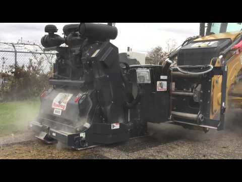 RoadHog RH4075 Controlled Depth Milling Parking Lot Maintenance