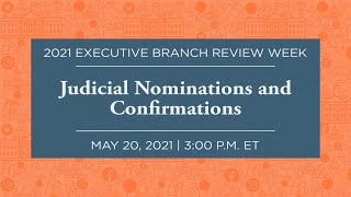 Click to play: Judicial Nominations and Confirmations
