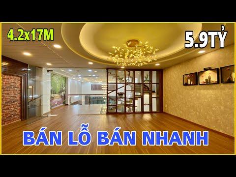 Bán nhà Gò Vấp | Xem căn nhà đẹp bán lỗ 1tỷ 4.2m x 17m 3.5 lầu sát chợ giá nào cũng bán