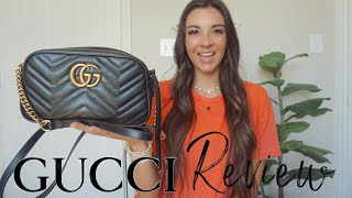 GUCCI MARMONT BAG REVIEW | IS IT WORTH THE HYPE?!