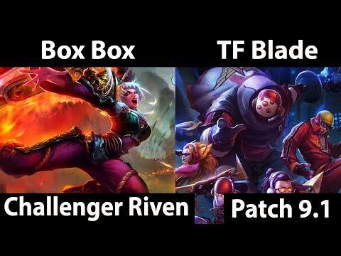 [ Box Box ] Riven vs Jax [ TF Blade ] Top - Twitch Rivals