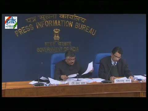 Cabinet Briefing by Union Minister Shri Ravi Shankar Prasad