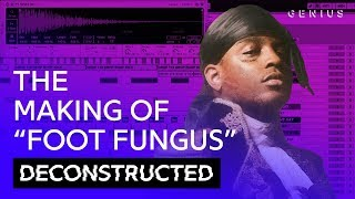 "The Making Of Ski Mask The Slump God's ""Foot Fungus"" With Kenny Beats 