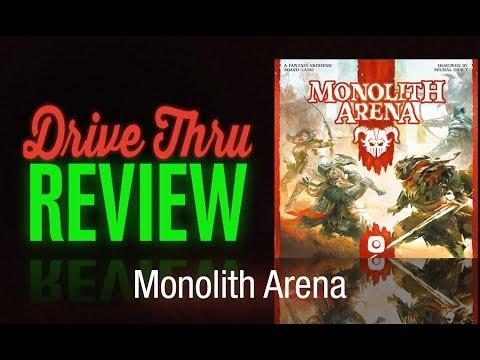 "[DriveThruReview] #637: ""Monolith Arena"""