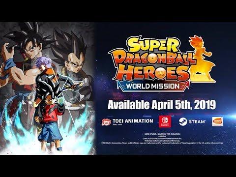 Super Dragon Ball Heroes: World Mission - Card Customization Trailer (2019)