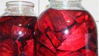 НАСТОЙКА из СВЕКЛЫ очищает сосуды и нормализует давление. Полезное домашнее вино, брашка, квас.