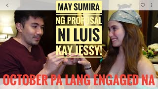 May sumira ng proposal ni Luis kay Jessy | Naghiwalay pala | The real story