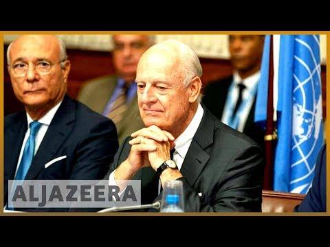 UN Syria envoy Staffan de Mistura to step down in November l Al Jazeera English