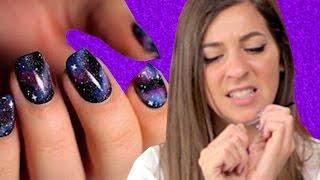 Regular People Try Pinterest Nail Art