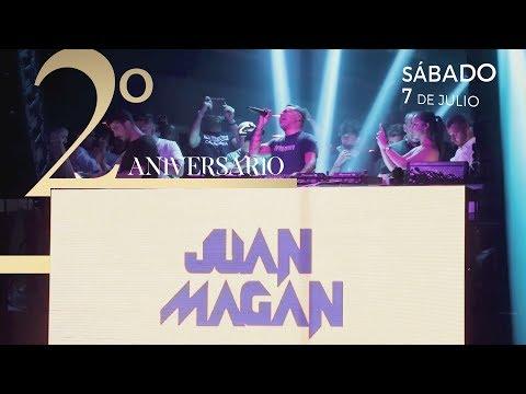 Juan Magán en el 2º Aniversario de Velice Discoteca - VÍDEO OFICIAL
