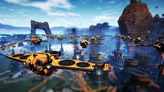 I Used Drones to Make a Nightmare Factory Even Worse - Satisfactory